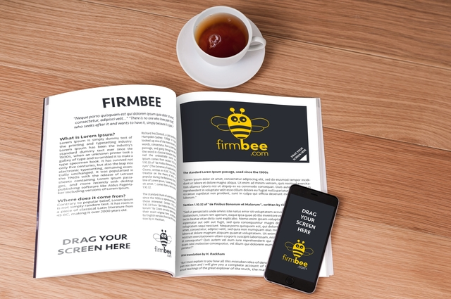 newspaper mockup firmbee download a free html templates vector