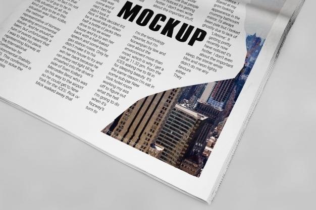newspaper mockup psd file free graphics uihere