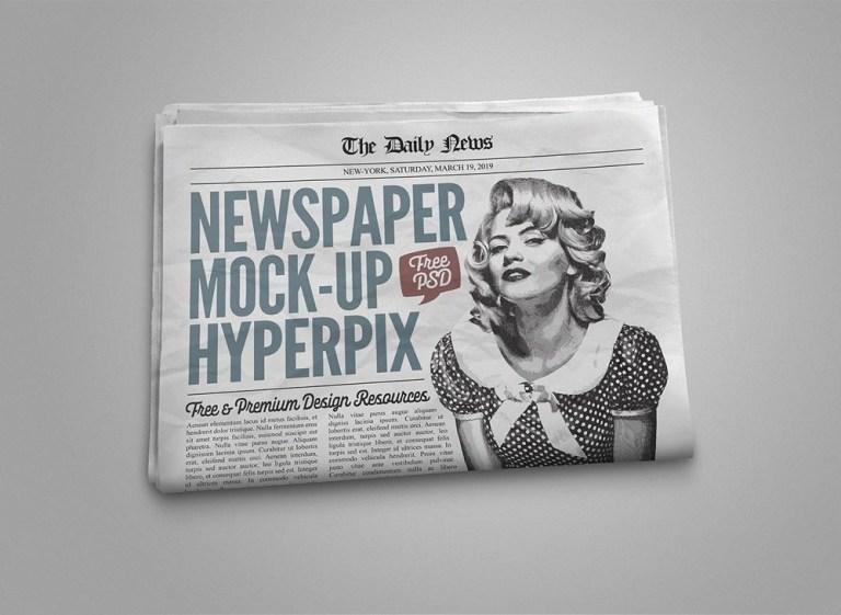newspaper mockupworld