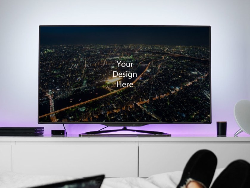 philips tv mockup mockupblast