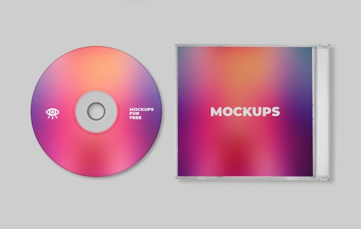 plastic cd case mockup mockups for free