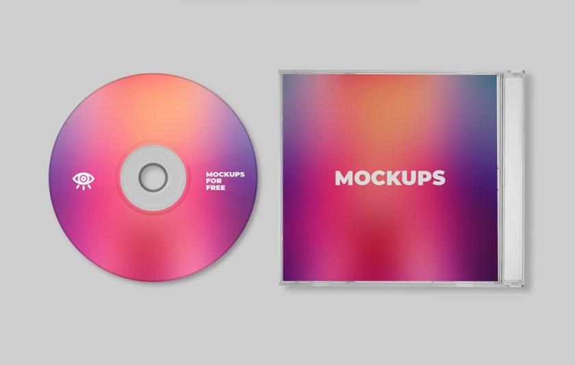 plastic cd case mockup mockups for free