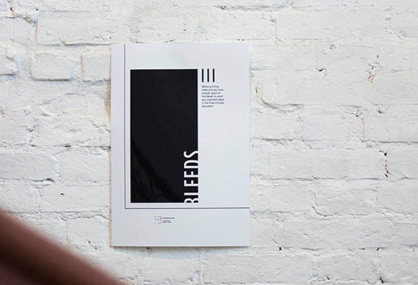 poster on wall mockup mockupworld