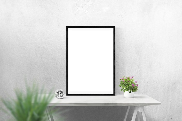 poster wall mockup free photo on pixabay