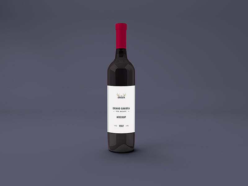 red wine bottle mockup graphberry epicpxls
