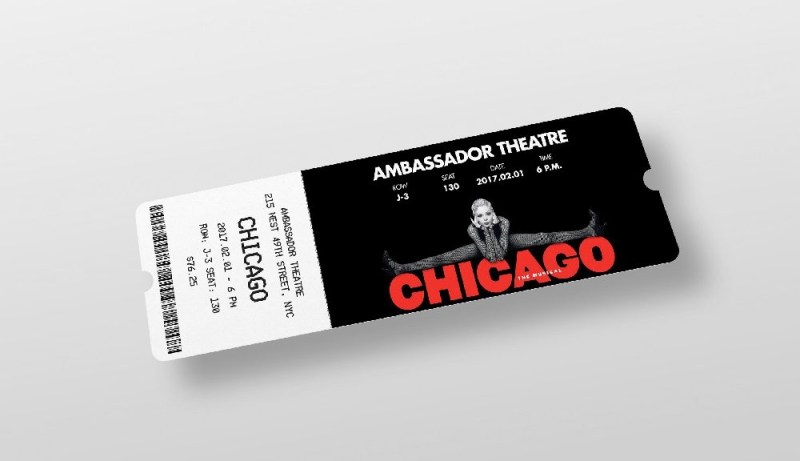 ticket mockup mockupworld