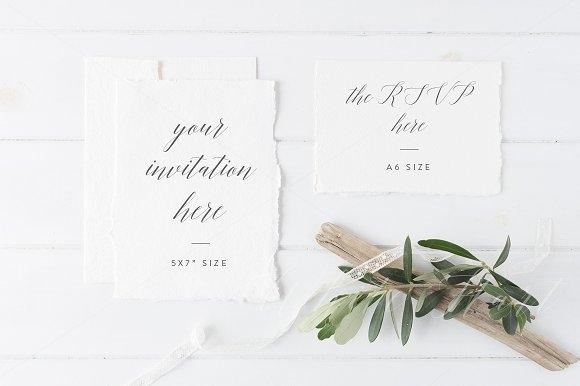 wedding invitation suite mockup mockup store