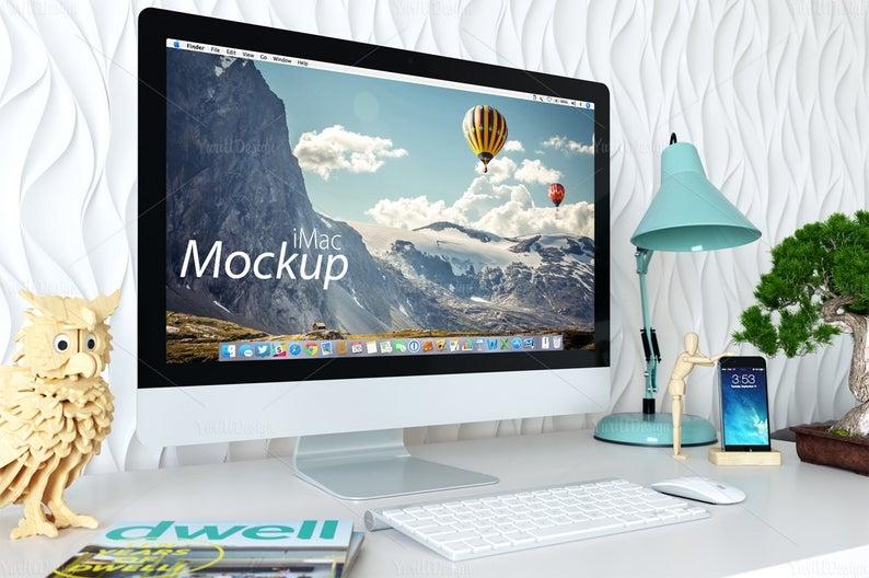 1 psd imac mockup 05 computer screen design imac mockup apple mockup