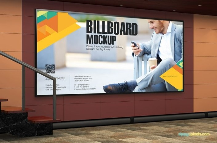 11 practical outdoor mockup psds for advertising advertisement