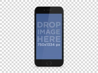 black iphone 6 portrait