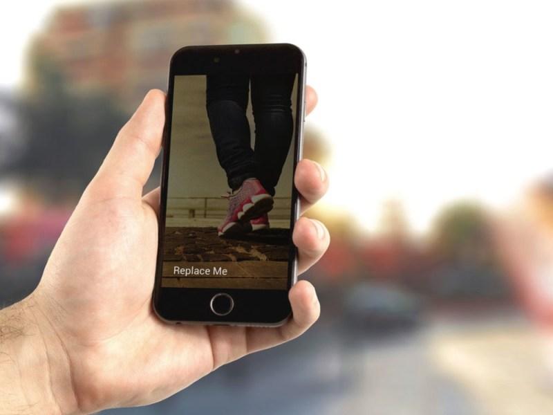 black iphone 7 mockup mockupblast