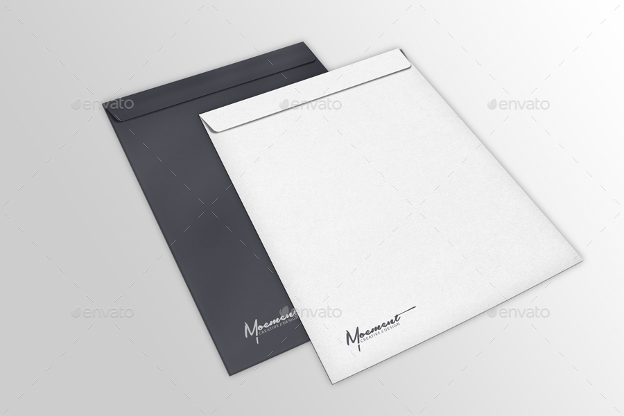 envelope mockup bundle