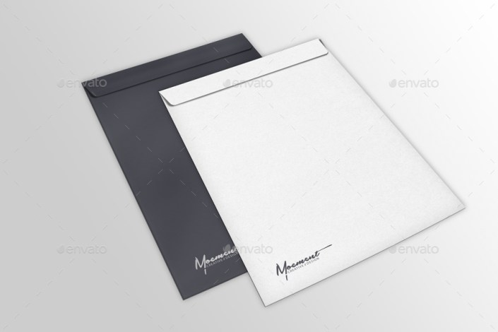 envelope mockup bundle
