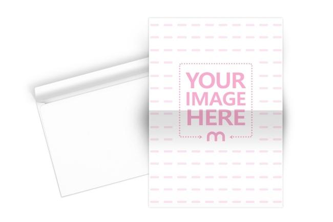 folded paper and envelope mockup generator mediamodifier