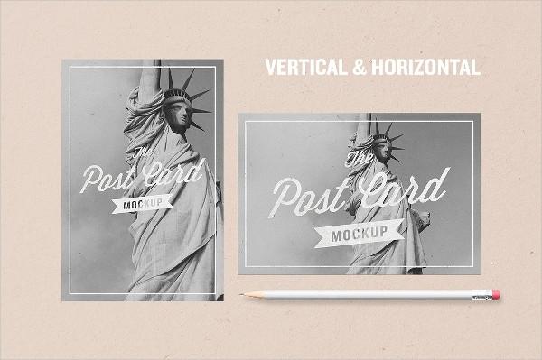 free postcard mockup templates tutore