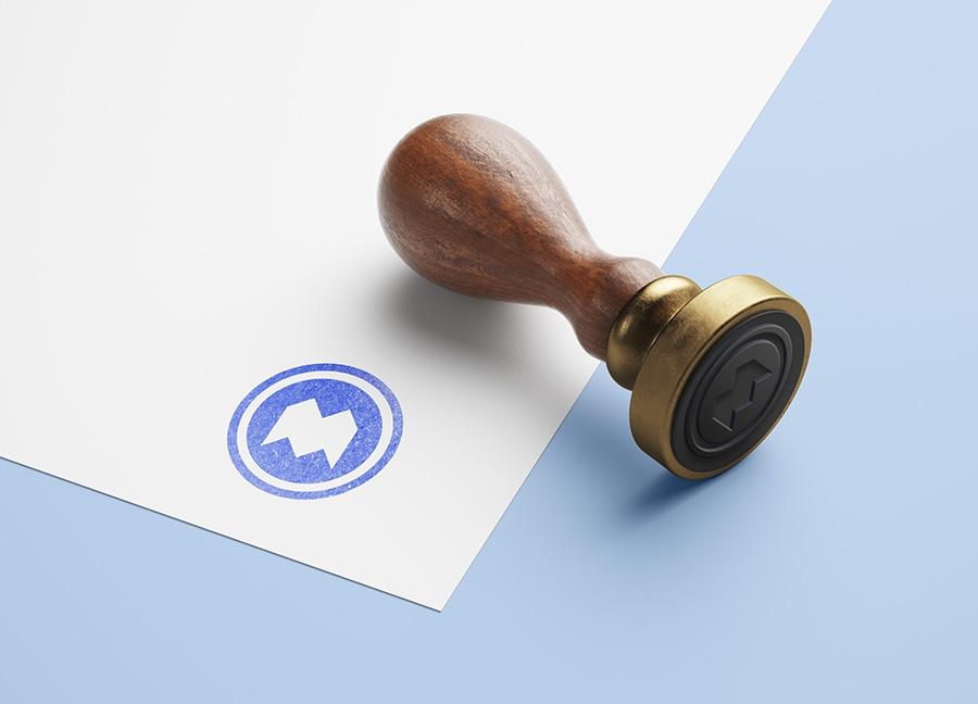 free wooden stamp mockup mockups design free premium mockups