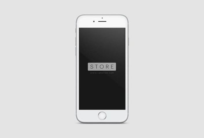 frontal view white iphone mockup mockups white iphone iphone