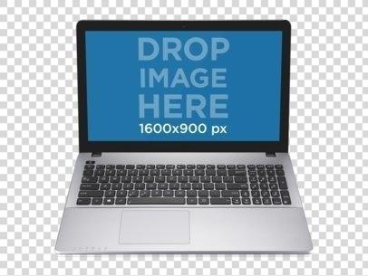 frontal windows laptop
