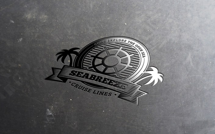 how to create a rubber stamp logo mockup in adobe photoshop