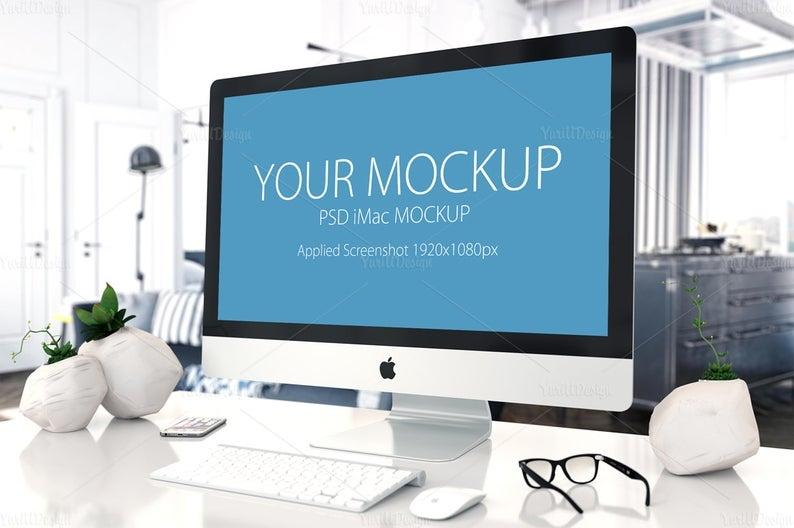 imac mockup 04 computer screen design imac mockup apple mockup