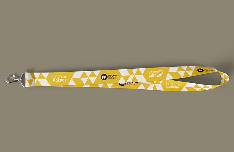 lanyard branding mockup mockuplove