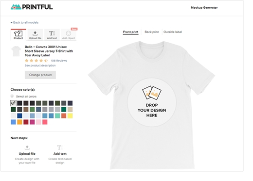 printful review the best way to dropship customized products