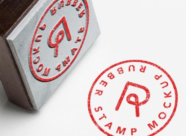 rubber stamp mockup mockup planet