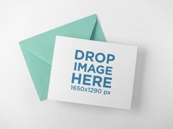 sell your designs with envelope and invitation mockups placeit