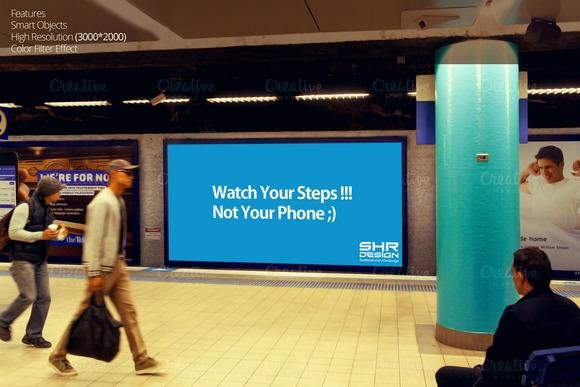 subway billboard mockup 5