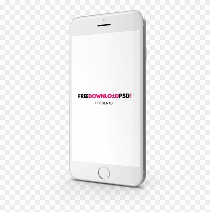 we create iphone 7 silver mockup for the best presentation free