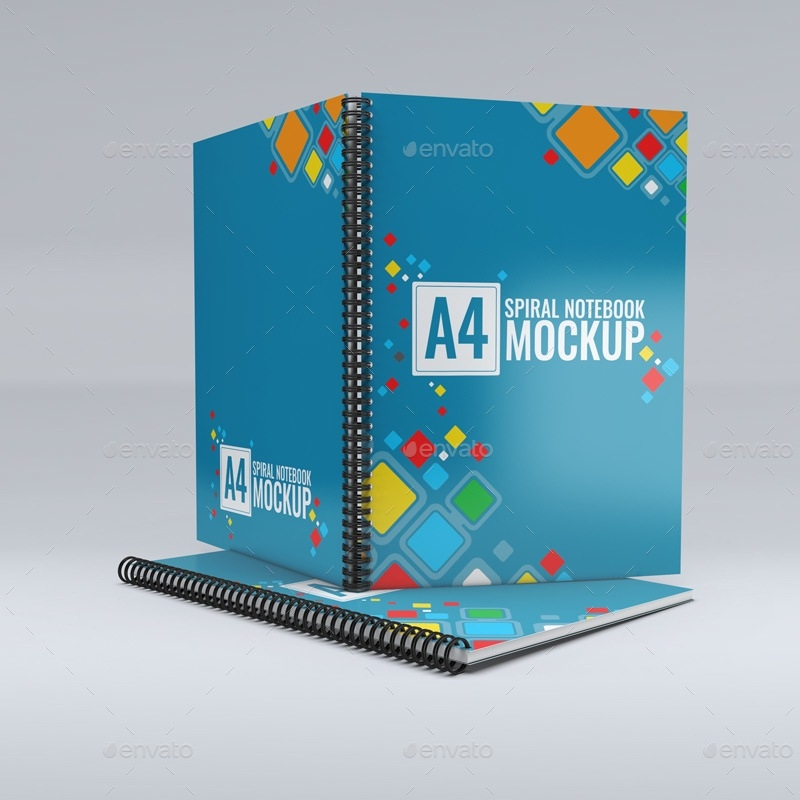 32 notebook mockup psd templates free and premium texty