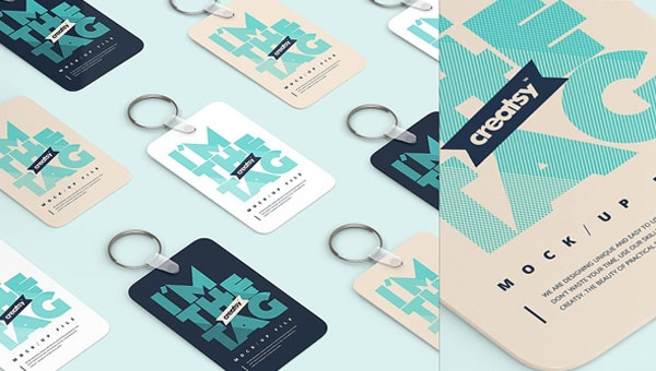 36 keychain mockups free photoshop vector eps png ai downloads