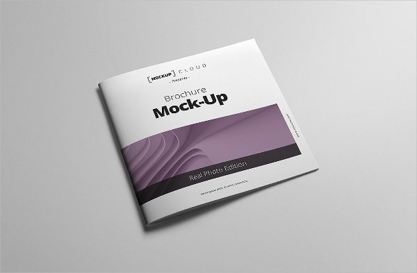 9 square brochure mock ups psd indesign ai format download
