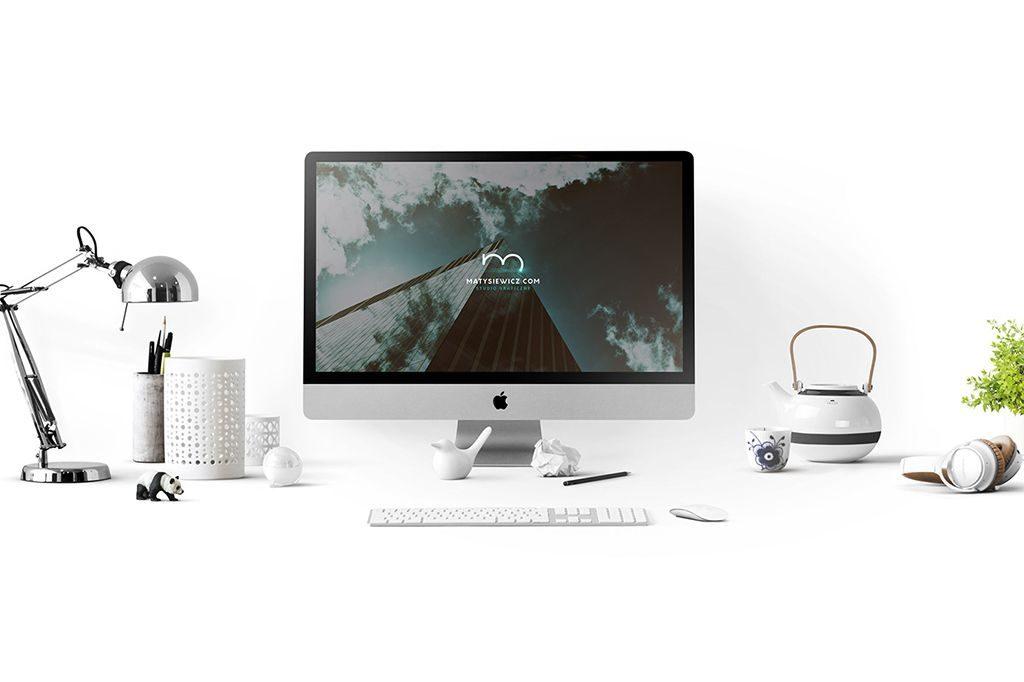 all free mockups psd macbook mockup macbook imac desk