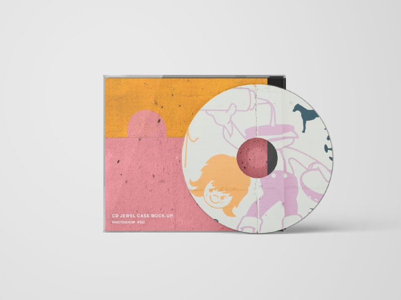 cd cover and back psd mockup mockupsq
