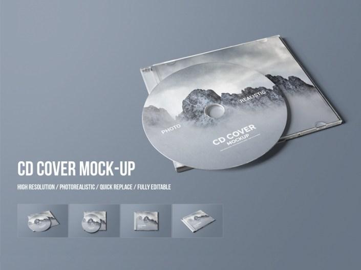 cd cover mock up toasin studio on dribbble