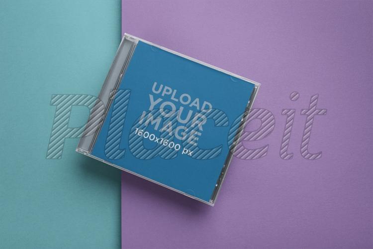 cd cover mockup 22010