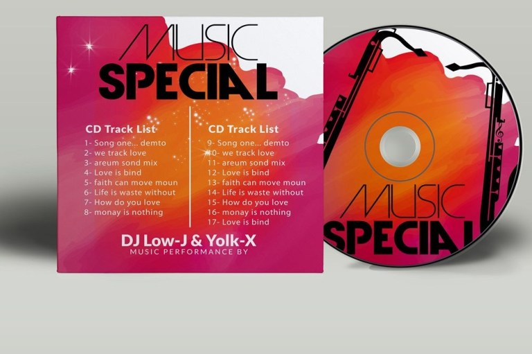 cd covers templates not a mockup