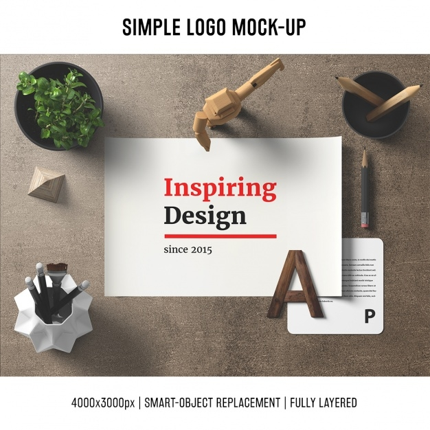 desk mock up template psd file free download