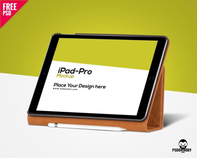 download ipad pro mockup free psd psddaddy