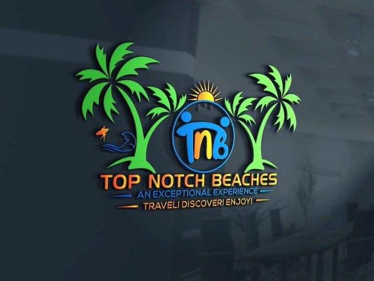 entry 9 bdart31 for top notch beaches 3d mockup logo design