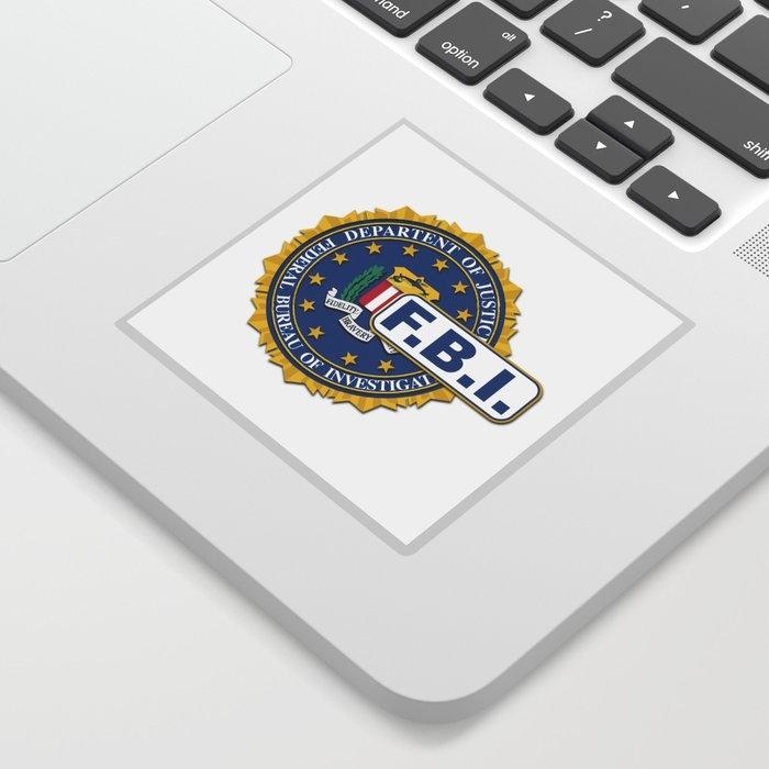 fbi seal mockup sticker homestead