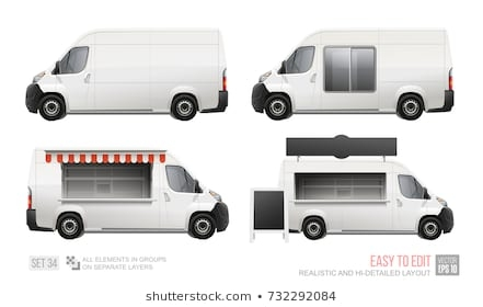 food truck mockup images stock photos vectors shutterstock