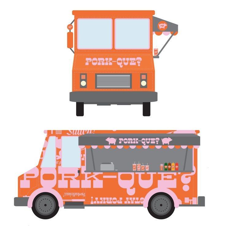 food truck mockups mock up stuff food truck food design mockup