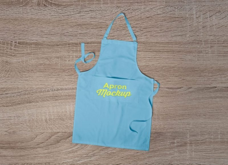 free branding on apron mockup psd good mockups