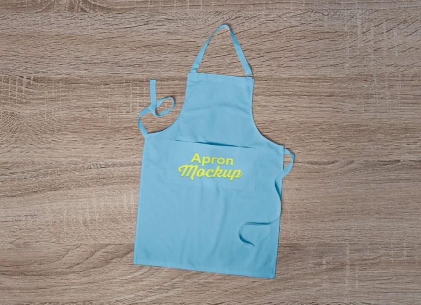free branding on apron mockup psd good mockups