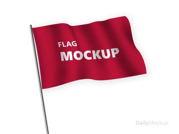 free flag mockup psd templates 2019 dailymockup
