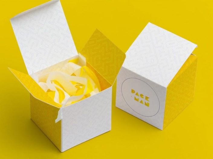 free paper box mockup set daily mockup