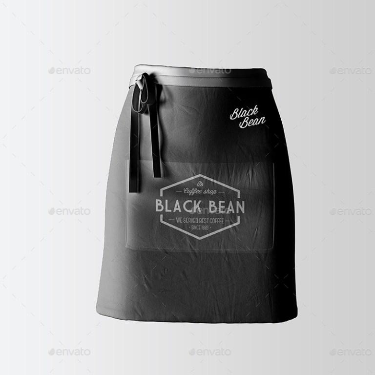 half waist apron mockup 06