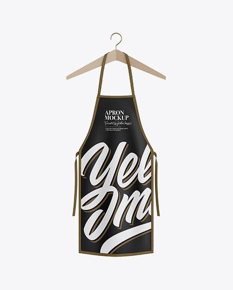 hanging apron mockup download hanging apron mockup free psd